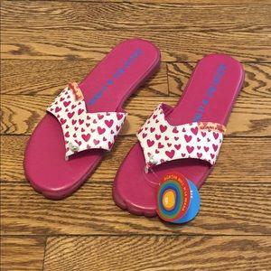 Agatha Ruiz de la Prada Sz 34 Heart Sandal